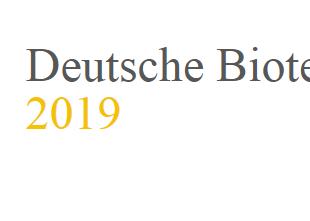 German Biotech Days in Würzburg (9.-10. April 2019))